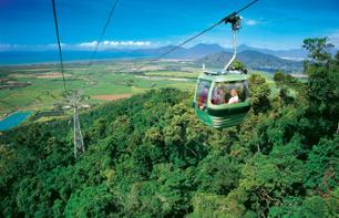 Day Trip to Kuranda: Cable car, scenic railway & Aboriginal cultural park – Departing from Cairns