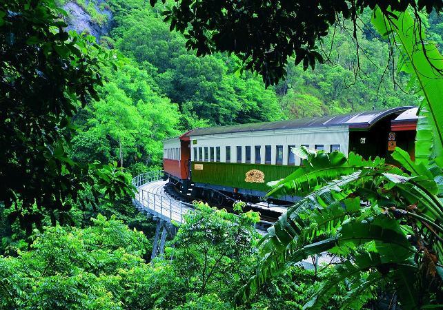 Téléphérique Skyrail et train panoramique de Kuranda – Au départ de Cairns image 2