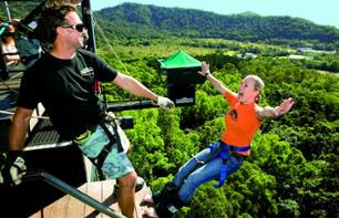 Adrenaline Package: Unlimited bungee jumping and giant zipline