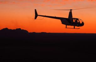 Helicopter Ride over Alice Springs at Sunset with Champagne on Board – 30 minutes