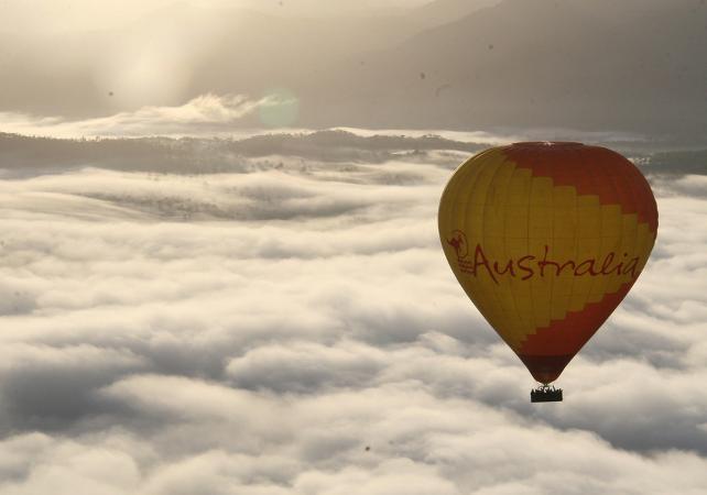 Survol en montgolfière de la Cordillère australienne – Au départ de Cairns image 3