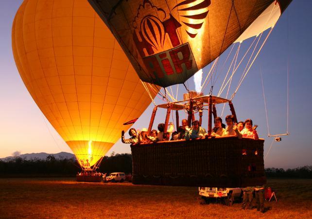 Survol en montgolfière de la Cordillère australienne – Au départ de Cairns image 5
