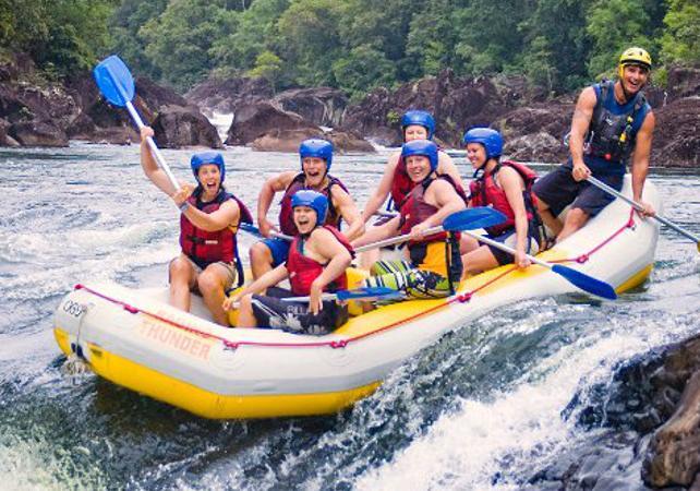 Descente en rafting de la Tully River – Une journée au départ de Cairns image 2