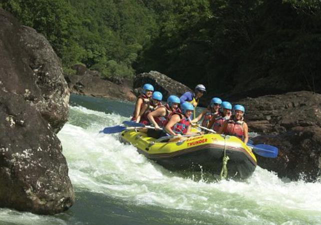 Descente en rafting de la Tully River – Une journée au départ de Cairns image 5
