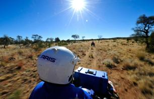 Quad Bike Ride in the Desert – Departing from Alice Springs