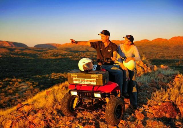 Balade en quad dans le désert - Au départ d'Alice Springs image 4