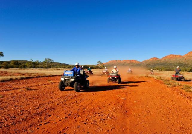 Balade en quad dans le désert - Au départ d'Alice Springs image 5