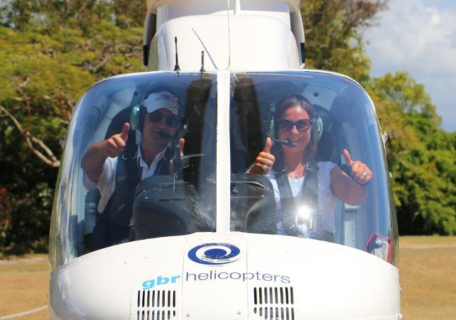 Survol de la Grande Barrière de Corail en hélicoptère – Au départ de Cairns image 2