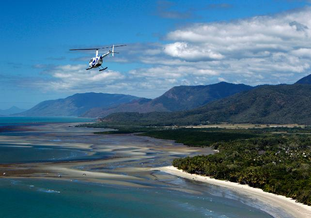 Survol de la Grande Barrière de Corail en hélicoptère – Au départ de Cairns image 3