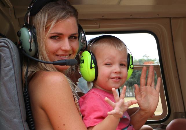 Survol en hélicoptère de la forêt tropicale et de la Grande Barrière de Corail – Au départ de Cairns image 7