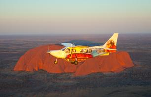 Aeroplane Flight: Ayers Rock, Olga Mountains, Lake Amadeus and Kings Canyon – 2 hours departing from Ayers Rock