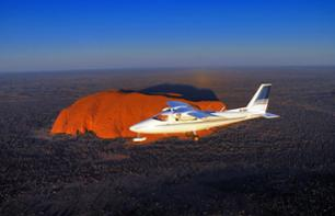 Aeroplane Flight over Ayers Rock (Uluru) and the Olga Mountains (Kata Tjuta) – 40 minutes departing from Ayers Rock