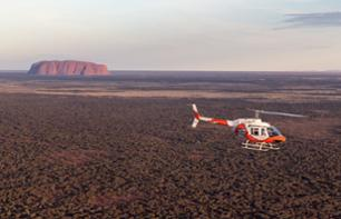 Helicopter Ride over Ayers Rock, Kata Tjuta and Lake Amadeus – 3 packages available, departing from Ayers Rock