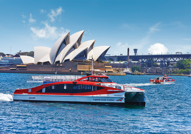 Croisière d'observation des baleines à Sydney image 3