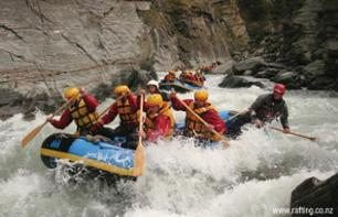 White Water Rafting on the Shotover River