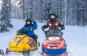 Snowmobile Trip for Children - Rovaniemi