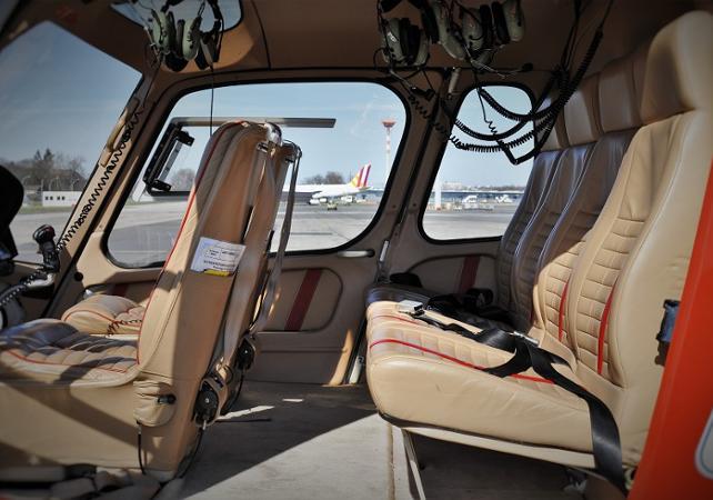 Photo Survol de Berlin en hélicoptère – départ de Strausberg