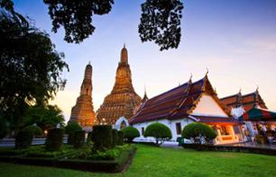 Discover Bangkok with a Long-tailed Boat Trip and Guided Tour of the Wat Arun Temple