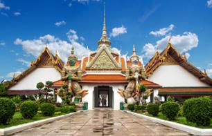 Private Tour ─ Long-tailed Boat Cruise and Wat Arun Temple Tour