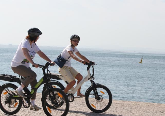 Balade en vélo électrique vers Belém à Lisbonne - Lisbonne -
