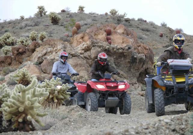 Photo Excursion en quad à l'Eldorado canyon et visite d'une mine d'or