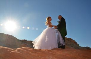 Wedding in the Valley of Fire