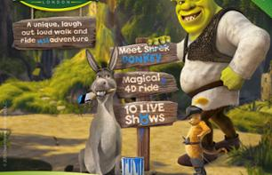 Ticket for Shrek's Adventure in London