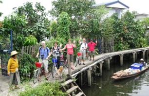 Tour of North Bangkok by Bike and Long-tailed Boat