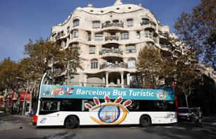 Barcelona Double-Decker Bus Tour: 1 or 2-Day Pass