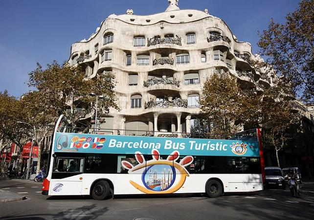 Photo Barcelone en bus impérial : Pass 1 ou 2 jours