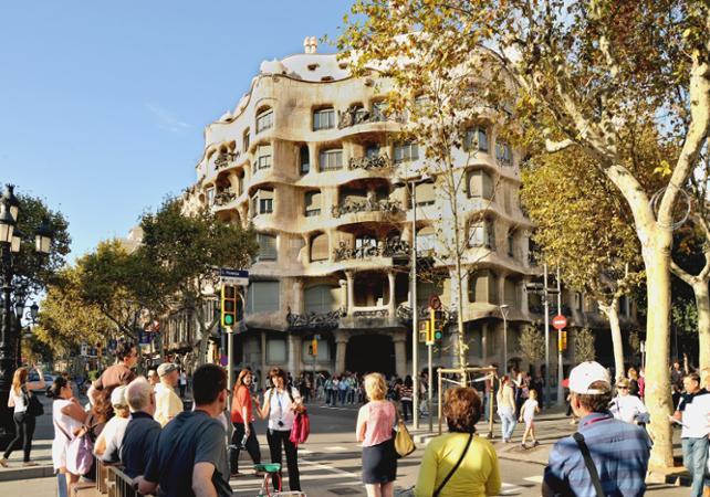 Photo Visite à pied autour de l'architecture moderniste catalane à Barcelone