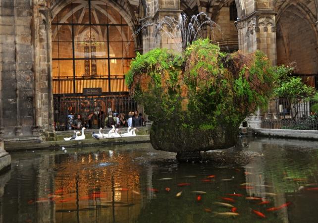 Photo Visite à pied du quartier gothique de Barcelone