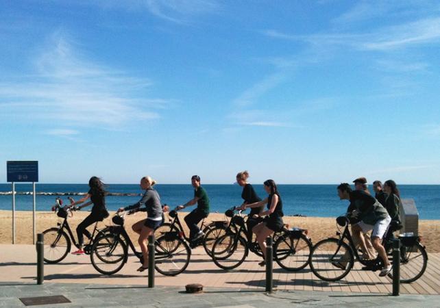 Barcelone à vélo : Visite avec guide - Barcelone -