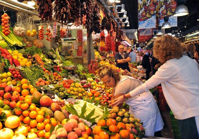 Photo Balade gourmande et visite du Jamon Experience à Barcelone