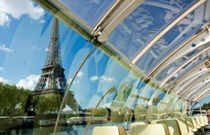 Batobus Tickets – Hop-on, hop-off Seine cruise – 1 or 2-day pass