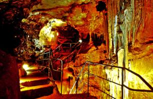 Grotte de Baume Obscure Visit and Nighttime Walk with a Caver Guide - 1 hr. 10 mins from Cannes
