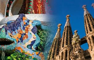 2-in-1 Offer: Guided Visit to Sagrada Familia and Visit to Park Guell - Barcelona