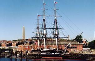 Discovery cruise to the USS Constitution in the Port of Boston