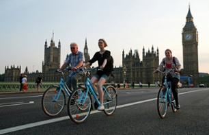 Guided bike-tour of Central London (with multilingual guide)