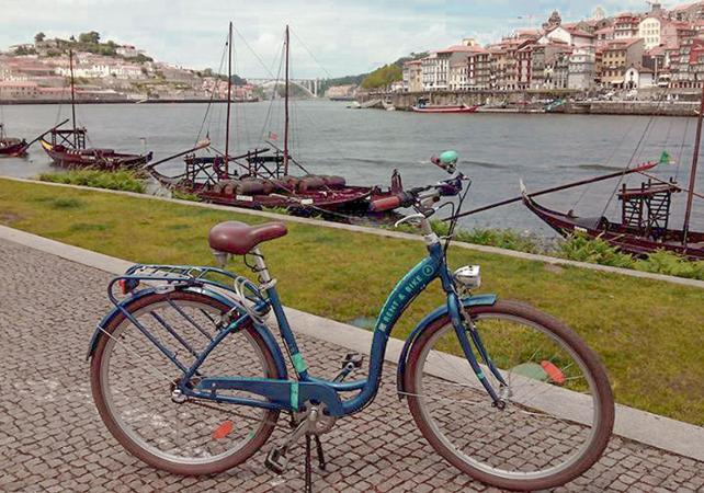 Combo : location de vélo, croisière sur le Douro et dégustation de vins -  Porto - Porto -