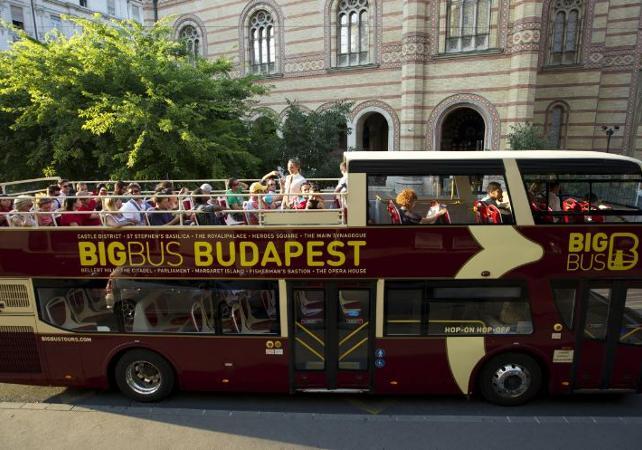 Pass transport 24h ou 48h : Visite de Budapest en bus à arrêts multiples - Budapest - Ceetiz