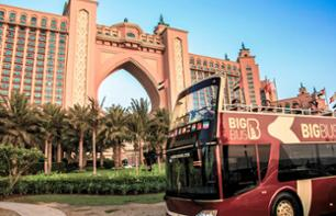 Tour di Dubai in bus panoramico - Hop-on Hop-off - Pass 1, 2 o 5 giorni