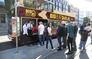 Panoramic bus tour of Dublin - Hop-on-Hop-Off - 24h, 48h or 72h pass