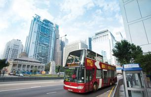 Hop-on, Hop-off Bus Pass: Bateau Sampan, Star Ferry, Tram Peak, and Sky100 - Hong Kong