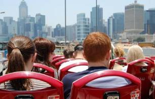 Discover Hong Kong on a hop-on/hop-off bus tour - 48 hour pass
