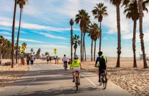 Guided Bike Tour of Los Angeles – 50km route