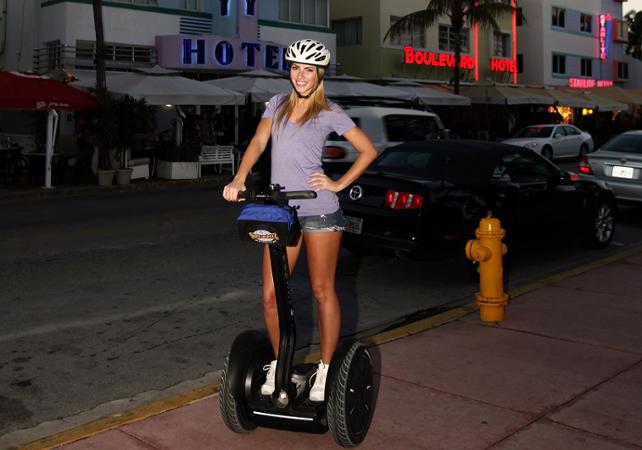 Visite de South Beach en Segway au coucher du soleil - Miami -