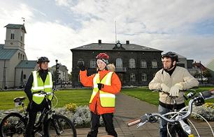 Guided bike tour of Reykjavik