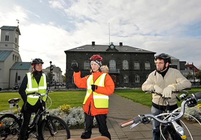 Photo Visite guidée de Reykjavik en vélo