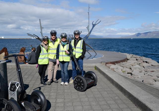 Photo Visite guidée de Reykjavik en Segway